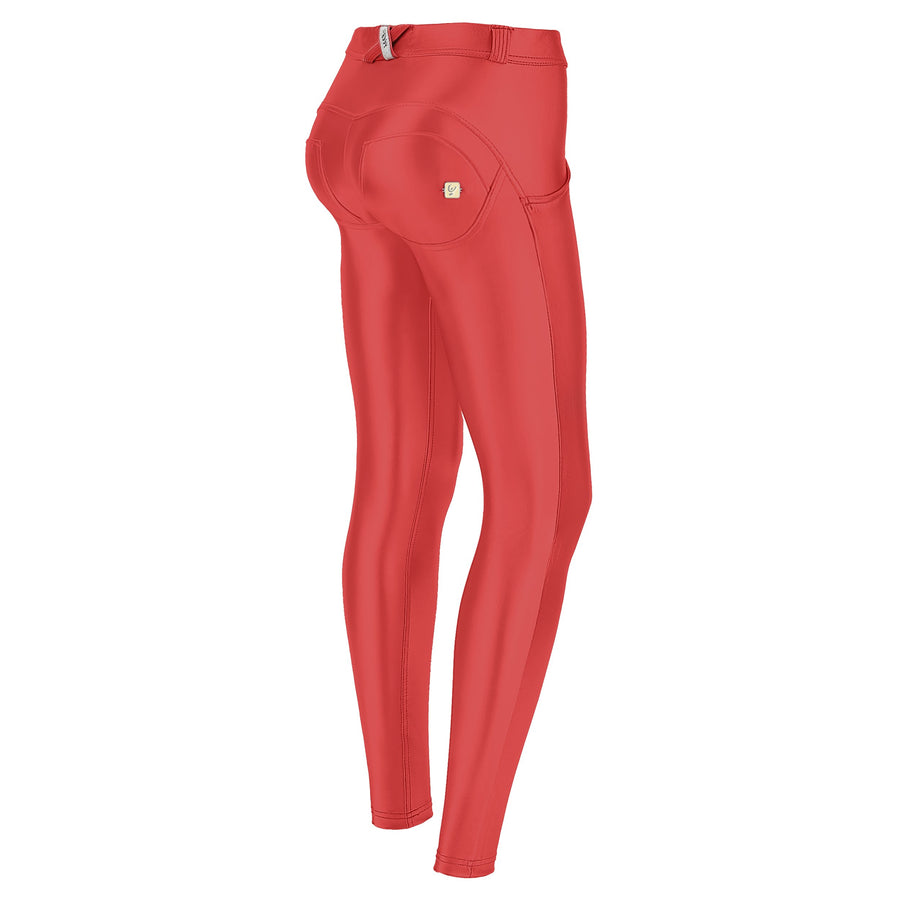 WR.UP® Eco Leather - Regular Rise Super Skinny - Red