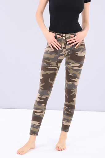 WR.UP® Fashion - Regular Rise 7/8 Ankle Length - Dark Camo