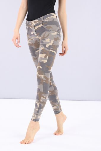 WR.UP® Fashion - Regular Rise 7/8 Ankle Length - Light Camo