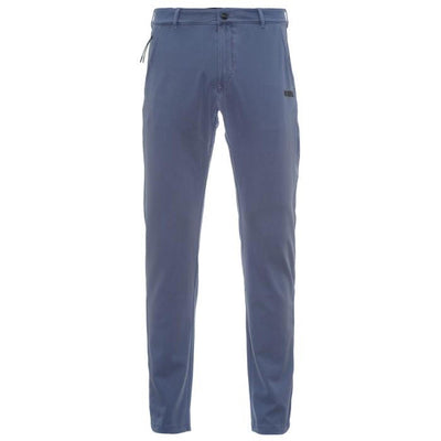 Mens Chino Pants - PRO Fit Rinsed Finish - Powder Blue