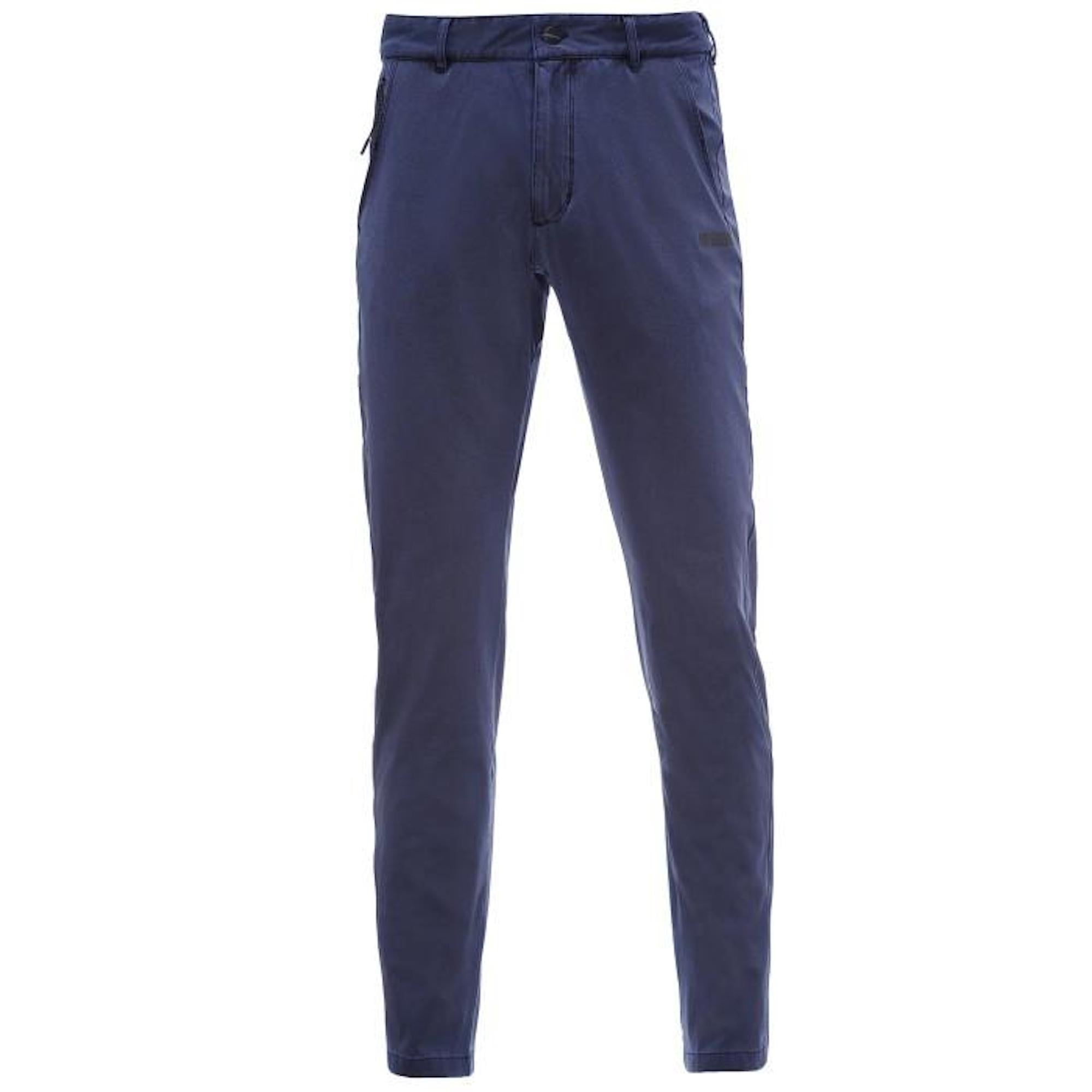 Mens Chino Pants - PRO Fit Rinsed Finish - Navy