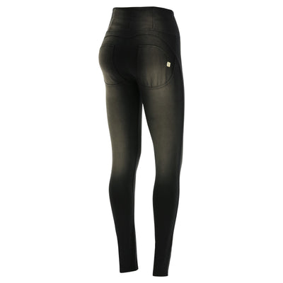 Freddy WR.UP® Sanded Effect High Rise Skinny - Black