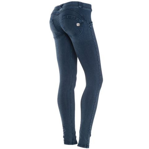 FREDDY WR.UP TONE ON TONE DENIM EFFECT - Dark Rinse - LIVIFY  - 1