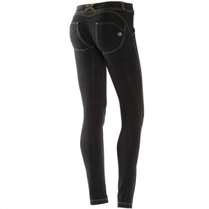 FREDDY WR.UP DENIM EFFECT SKINNY - Black Rinse - LIVIFY  - 1