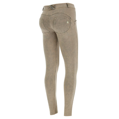 Freddy WR.UP® Marble Denim Regular Rise Skinny - Beige