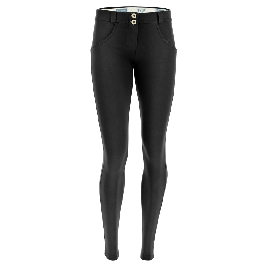 Freddy WR.UP® Sanded Effect Regular Rise Skinny - Black