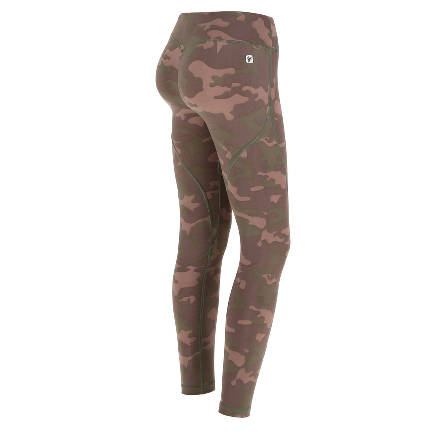 Freddy DIWO® Regular Rise Sport 7/8 Pant - Dark Camo