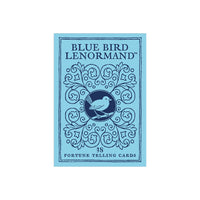 Blue Bird Lenormand Fortune Telling Cards by Stuart Kaplan Playing Card Oracle Cartomancy