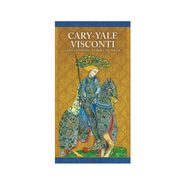 Cary-Yale Visconti 15th Century Tarocchi Tarot Card Deck and Book Antique Reproduction