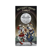 Deviant Moon Tarot Card Deck and Book by Patrick Valenza