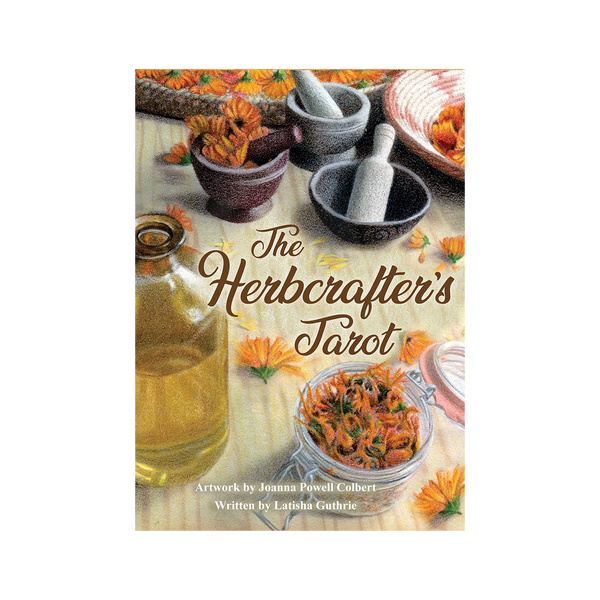 The Herbcrafter's Tarot by Latisha Guthrie and Joanna Powell Colbert Herbalism