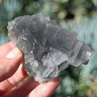 Raw Fluorite Crystal Specimen Blue Green Teal