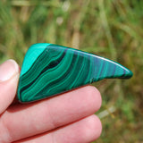 AAA Natural Malachite Crystal Polished Slab 39g 2.25""