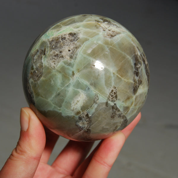 Large Garnierite Crystal Sphere Polished Crystal Ball