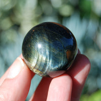 Blue Tiger's Eye Crystal Sphere