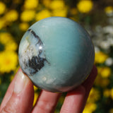 Amazonite Crystal Sphere