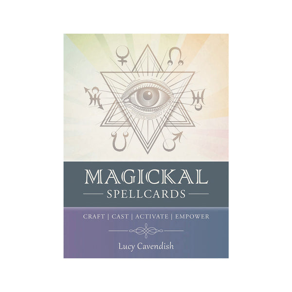 Magickal Spellcards and Book Set by Lucy Cavendish Sacred Keys to Effective Casting and Crafting