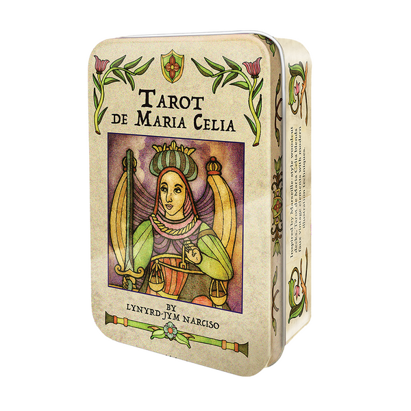 Tarot de Maria Celia Card Deck and Book in Tin Box