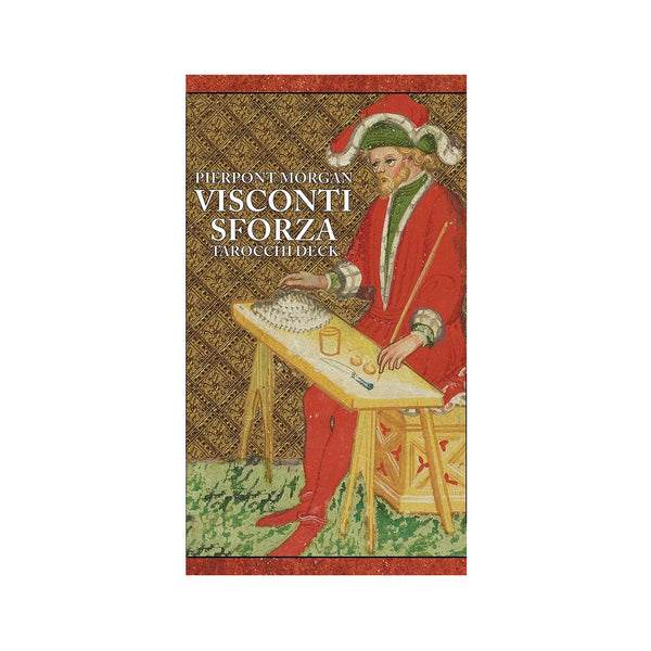 Visconti-Sforza Pierpont Morgan Tarocchi Tarot Card Deck and Book by Stuart R. Kaplan Antique Reproduction