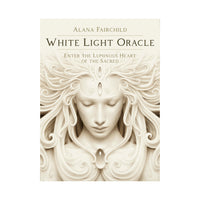 White Light Oracle Card Deck and Book by A. Andrew Gonzalez Boxed Set Lightworkers Tarot