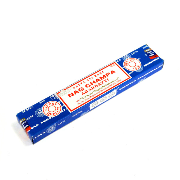 Genuine Satya NAG CHAMPA Incense Sticks