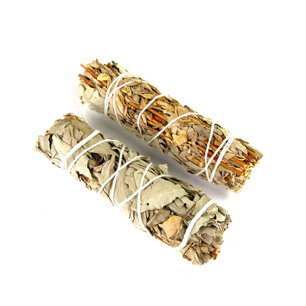 Lavender and California White Sage Natural Smudge Stick