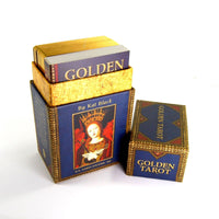Golden Tarot Card Boxed Set by Kat Black