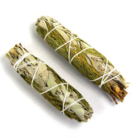Aromatic Cedar and California White Spirit Sage Smudge Stick