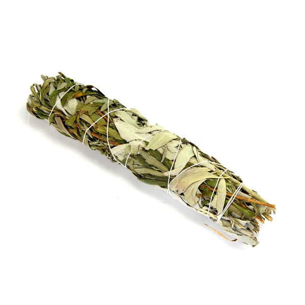 Lavender and California White Spirit Sage Smudge Stick Large