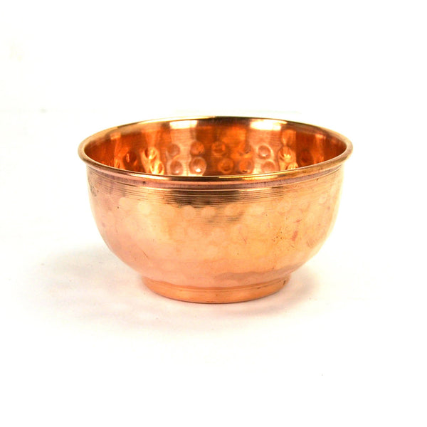 Copper Tibetan Offering Bowl