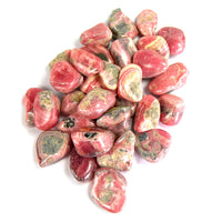 Rhodochrosite Crystal Tumbled Stones from Peru