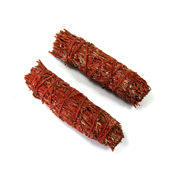 Dragons Blood Resin and Mountain Sage Smudge Stick 4""