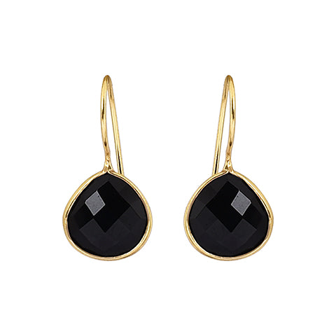 Alisha Earrings Black Onyx