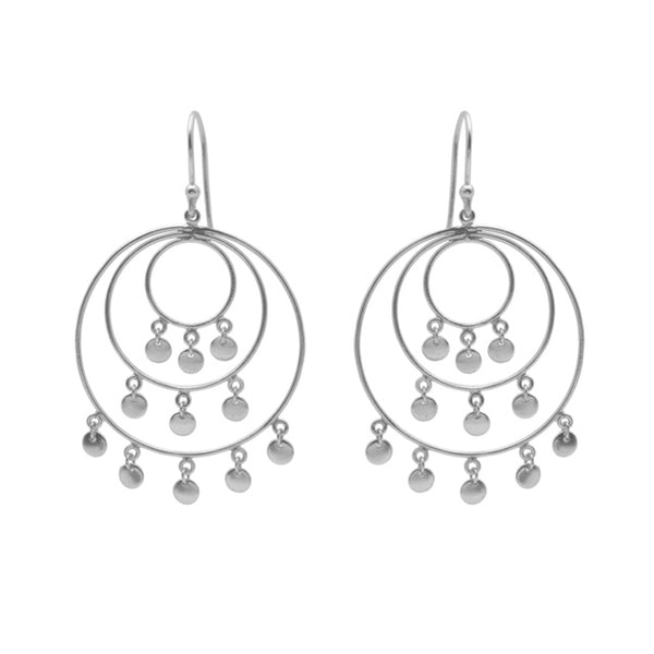 Jingle Earring Silver