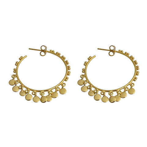 Isabella Hoops Gold