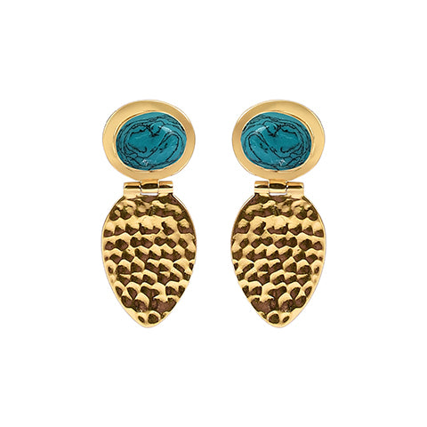 Ancient Bliss Earrings Gold