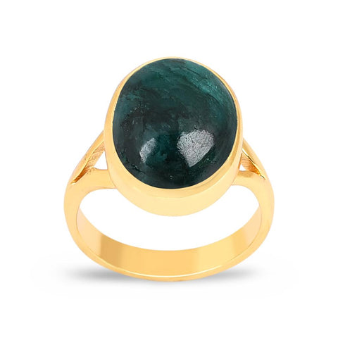 Jasmine Gold Ring - Emerald