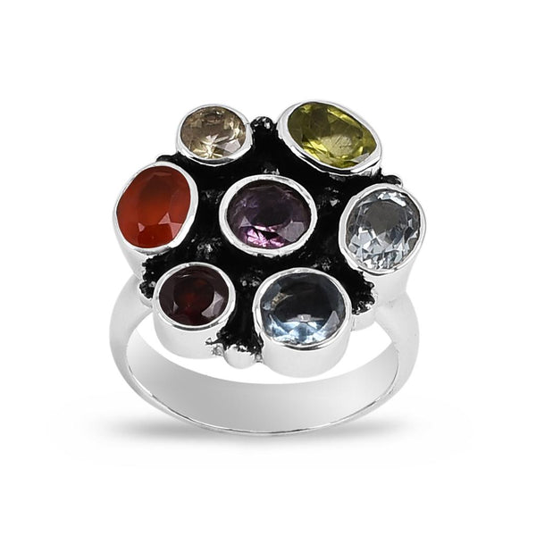 Milana Multi Gem Ring