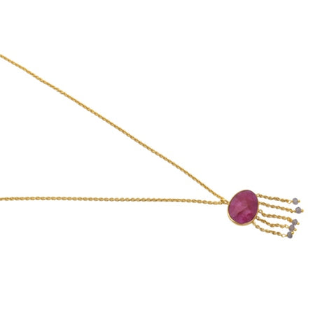 Lucia Necklace Gold