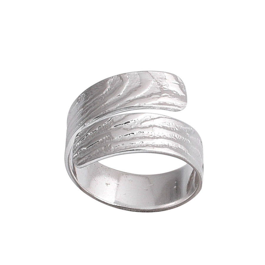 Hot Cross Ring Silver