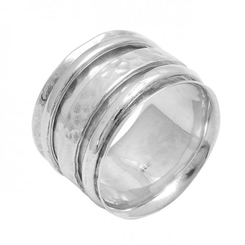 Rayna Spinning Ring Silver