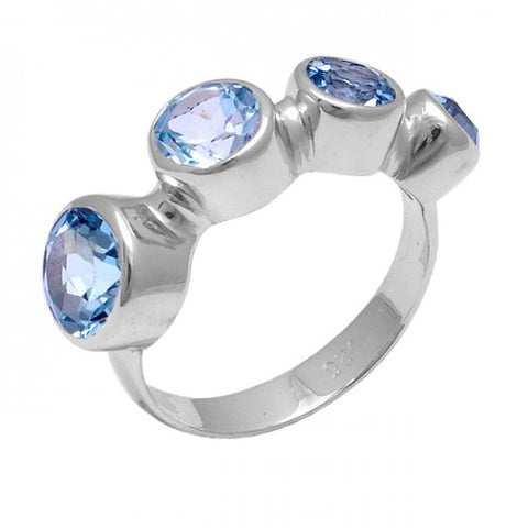 Callista Ring Blue Quartz