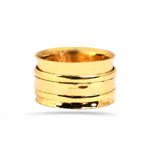 Rayna Spinning Ring Gold