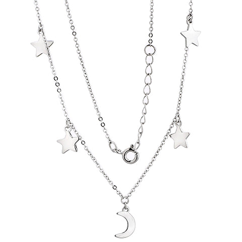 Cosmic Fever Necklace Silver