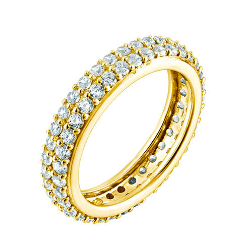 Pave Dress Ring Gold