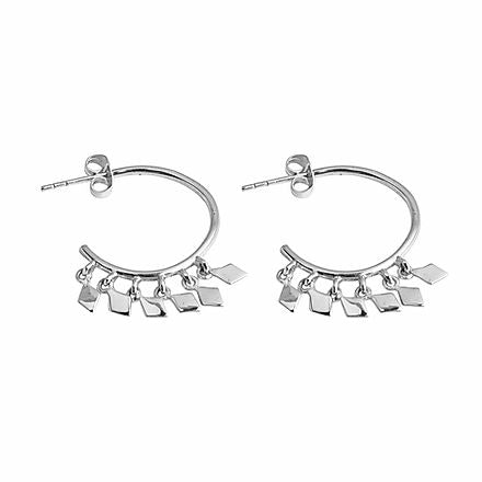 Camille Hoops Silver