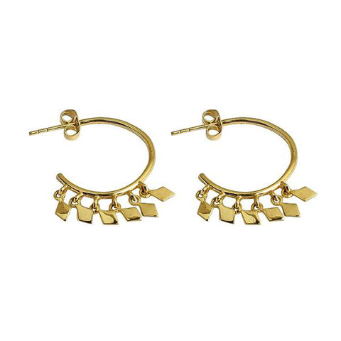 Camille Hoops Gold
