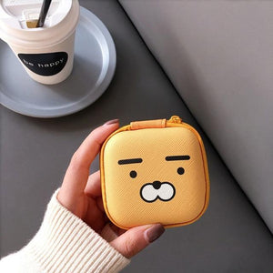 Accessories Bear Cute Cartoon Earphone Zipper Case