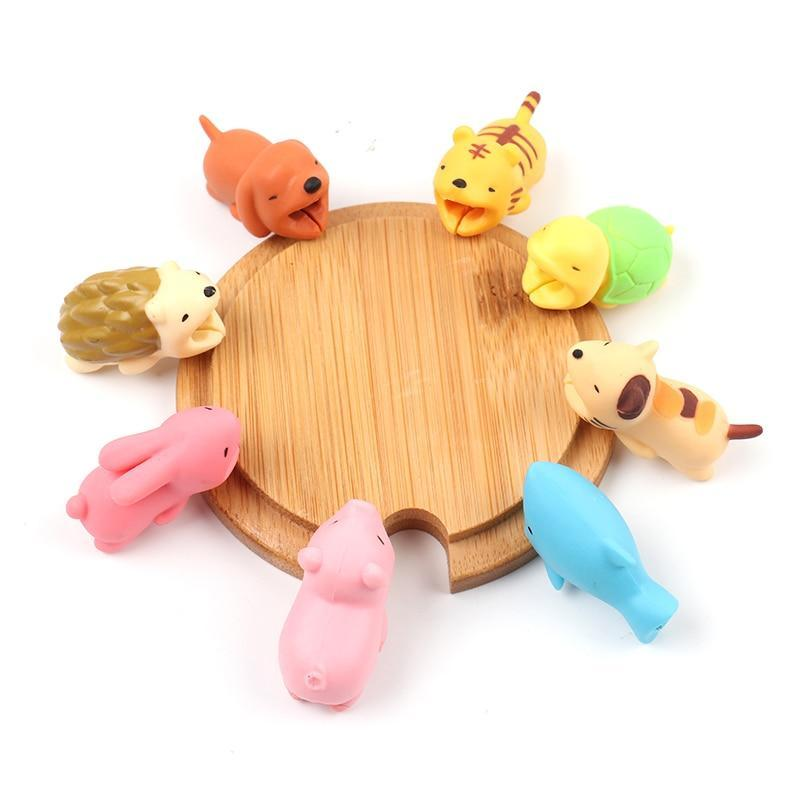 Accessories Cute Animal Cable Protector