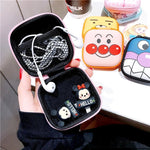 Accessories Cute Cartoon Earphone Zipper Case